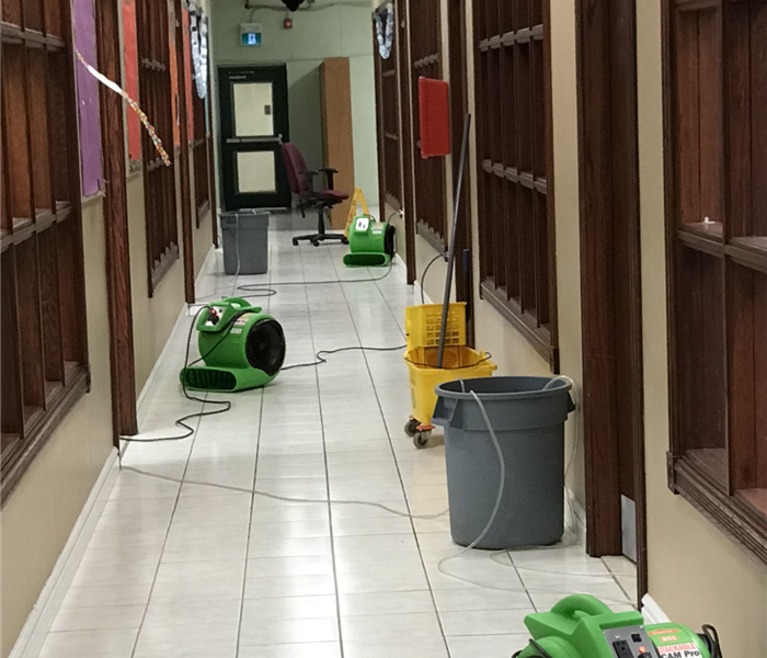 Water Damage SERVPRO AGINCOURT provides 24/7 Emergency Services